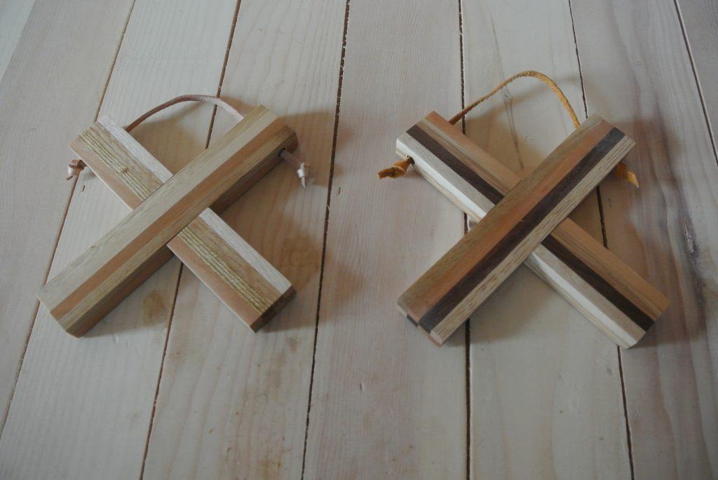 小西木材の鍋敷き