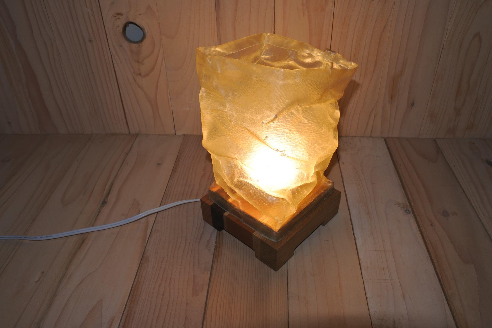 豚革のシェードの照明