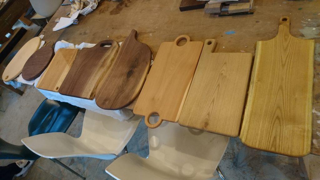 パンにあう木の皿とお料理のワークショップ